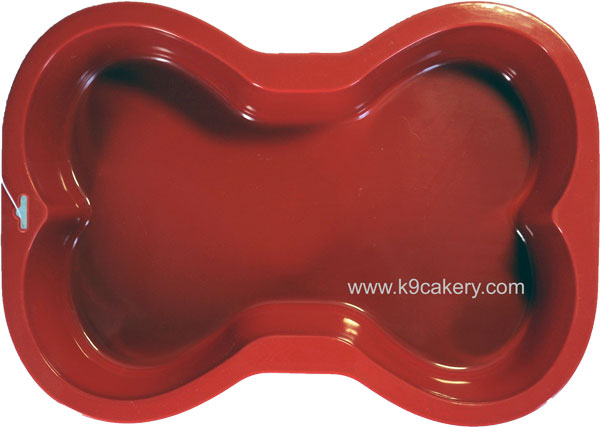 Dog Bone Silicone Cake Pan (7