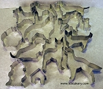 13 Piece Dog Cookie Cutters