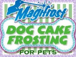 10 Ounces - Tapioca Dog Cake Frosting Mix - White