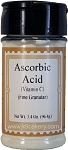 Natural, Sugar Free Ascorbic Acid - Preservative (3.4 oz.)