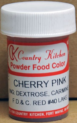 Powdered Color - Cherry Pink (9 grams)