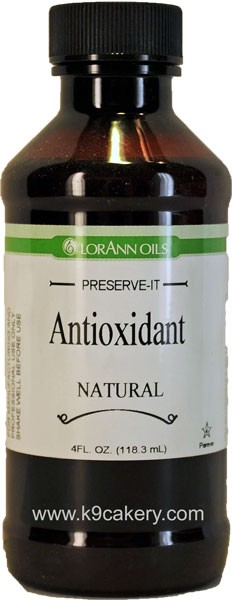 Natural, Sugar Free Antioxidant (4 oz.)