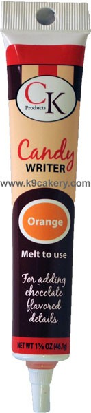 3-D Colored Writer Orange (1 5/8 oz.)