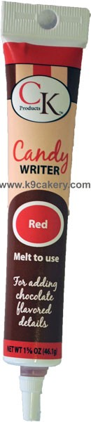 3-D Colored Writer Red (1 5/8 oz.)